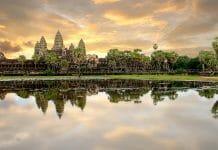 프놈펜에서 씨엠립