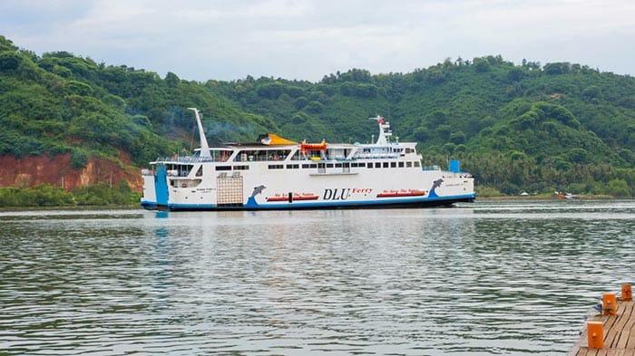 Государственный паром с Бали на Ломбок