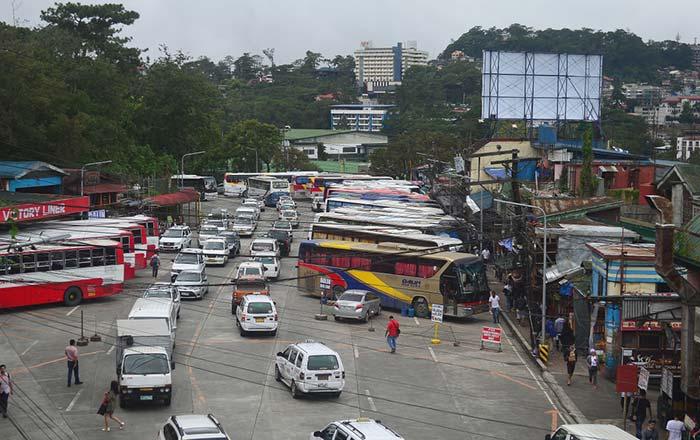 마닐라에서 바기오 버스로 이동