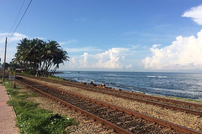 Из Коломбо в Галле на поезде