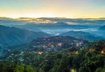 마닐라에서 바기오
