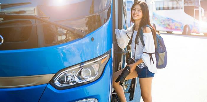 싱가포르에서 페낭 버스로 이동