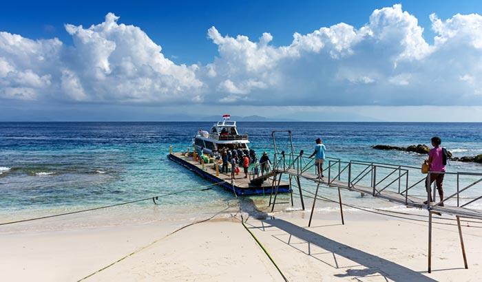 Способы добраться с Бали на остров Нуса-Пенида