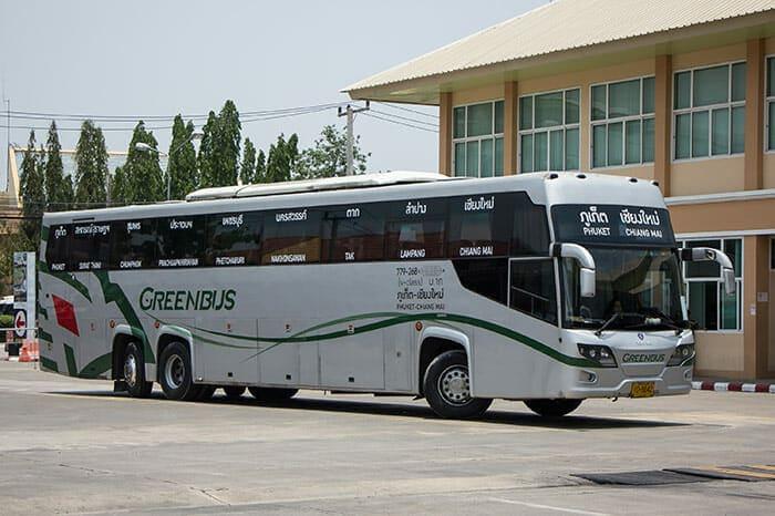 치앙마이에서 푸켓 버스로 이동