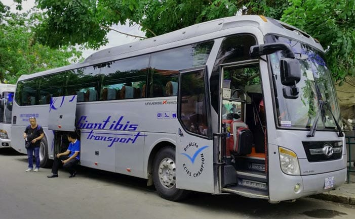 프놈펜에서 시아누크빌 버스로 이동