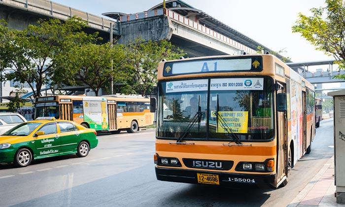 Из аэропорта Дон Муанг в Паттайю на автобусе