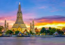 С острова Тао в Бангкок