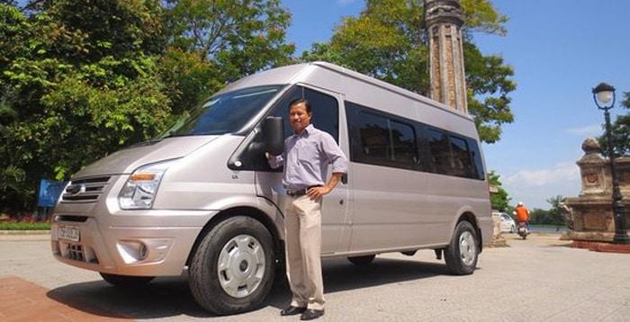하노이에서 닌빈까지 개인 택시로 이동