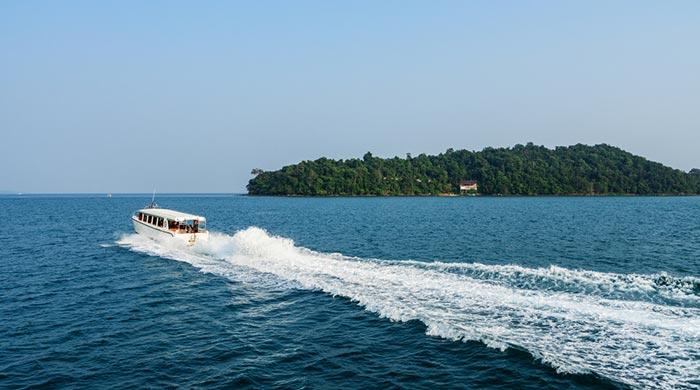 Способы добраться из Сиануквиля на остров Ронг
