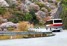 일본 버스 여행