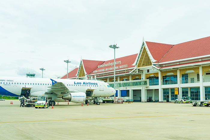 Авиарейсы из Вьентьяна в Луангпрабанг