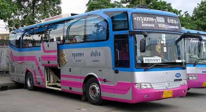 Тайские автобусы класса «VIP»