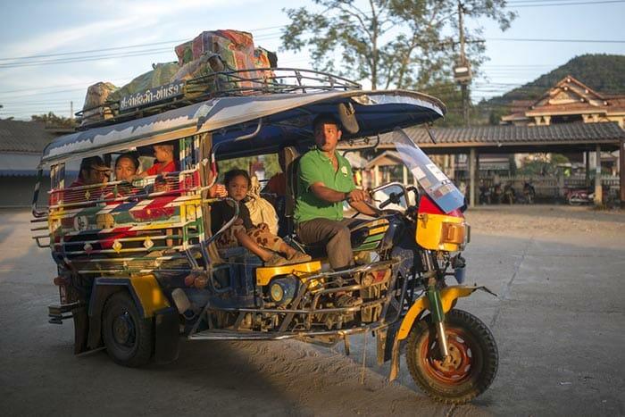 치앙마이에서 루앙프라방 버스로 이동