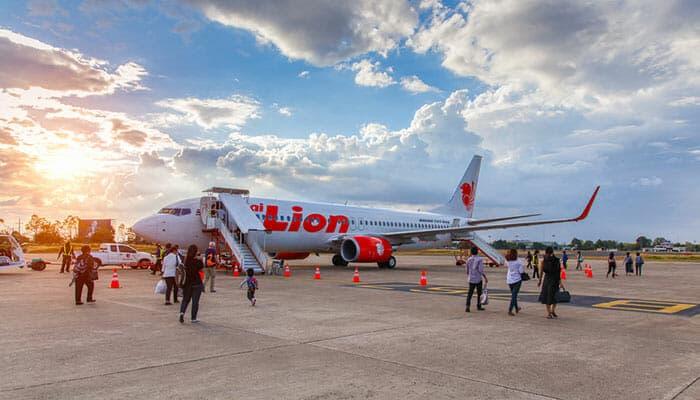 방콕에서 수랏타니 비행기로 이동