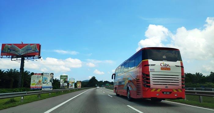 말레이시아 버스 여행, 안전한가요?