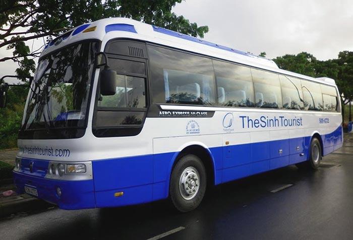 나트랑에서 호이안 버스로 이동