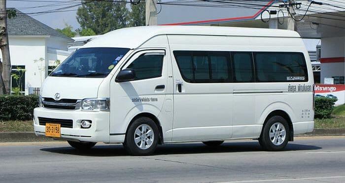 Из Пая в Чианграй на микроавтобусе