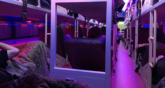 베트남 침대 버스