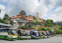 말레이시아 버스 여행
