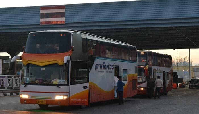 방콕에서 비엔티안 직행버스로 이동