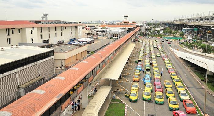 돈므앙공항에서 파타야 택시로 이동