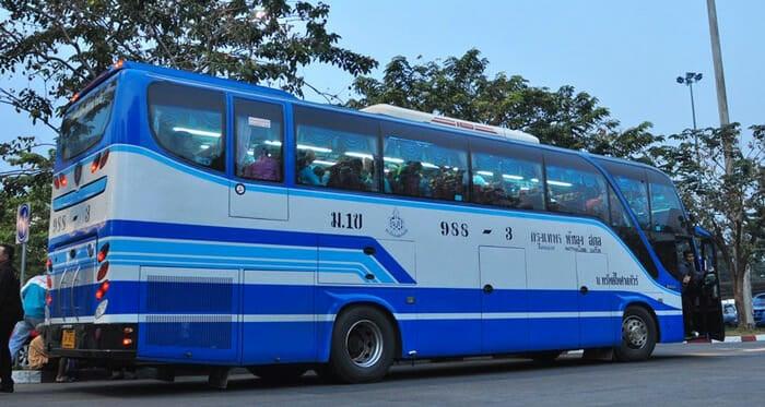 태국 고속 버스