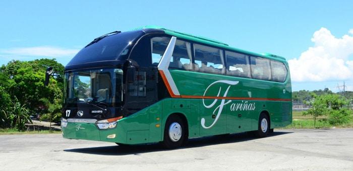 마닐라에서 비간 버스로 이동