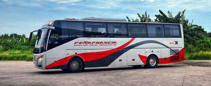 Из Манилы в Нагу на автобусе