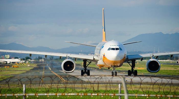 마닐라에서 타클로반 비행기로 이동