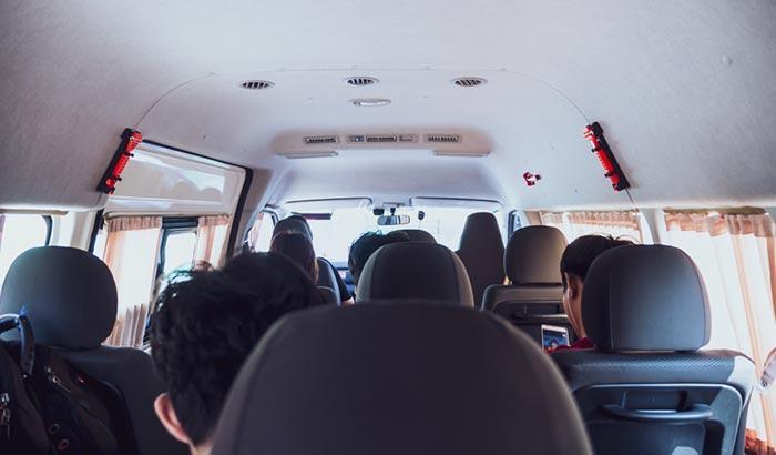 Из Краби в Сураттани на микроавтобусе