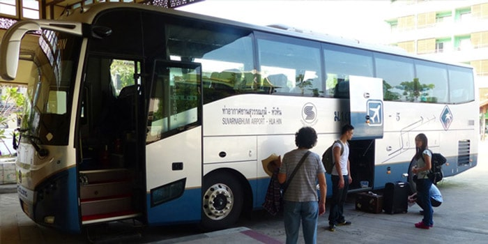 Из аэропорта Суварнабхуми в Хуахин на автобусе