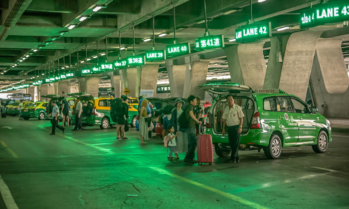 수완나품 공항에서 파타야 택시로 이동