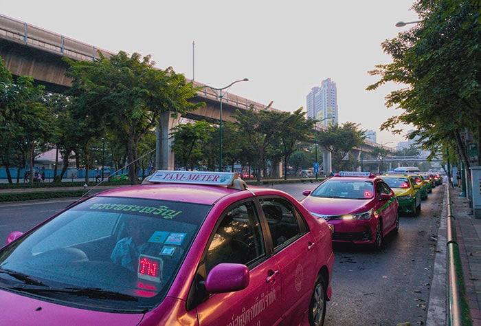 Такси частной компании из Бангкока в Чумпхон