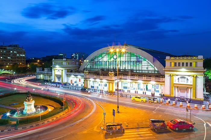 Из Бангкока в Хатъяй на поезде