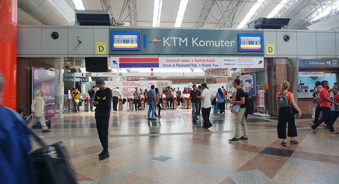 말레이시아 기차 여행 티켓 구입처