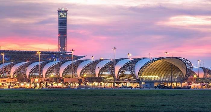 페낭에서 방콕 비행기로 이동