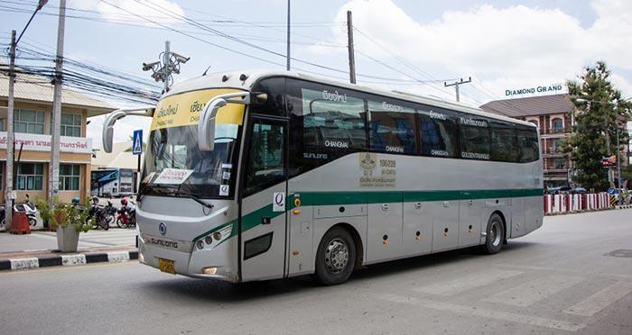 빠이에서 치앙라이 버스로 이동