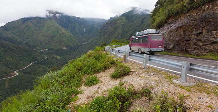달랏에서 호이안 버스로 이동