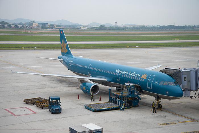 루앙프라방에서 하노이 비행기로 이동