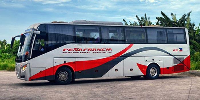 마닐라에서 레가스피 버스로 이동