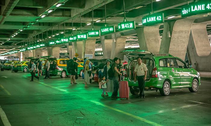 수완나폼 공항에서 후아힌 택시로 이동