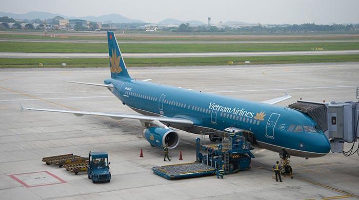 비엔티안에서 하노이 비행기로 이동