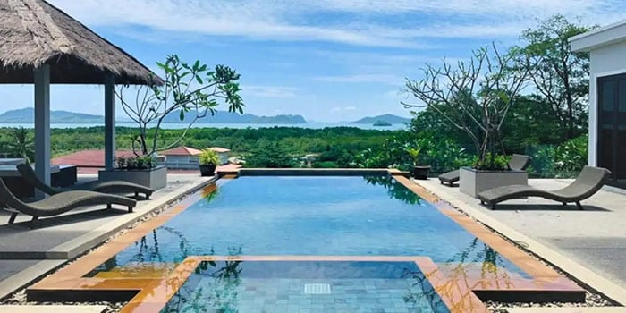 Eastern Islands Panoramic Sea View Pool Villa