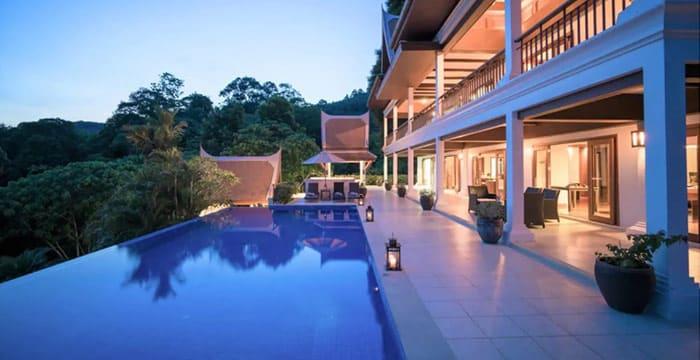 Villa overlooking Layan Beach