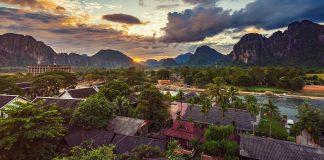 Von Luang Prabang nach Vang Vieng
